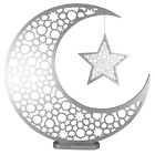 Large Moon  Star Silver