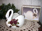 Swan Vase Diamond International Bazaar MIB