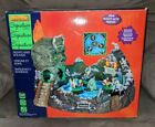 Lemax Spooky Town Halloween Skull River Lighted Animated Village # 24469 TESTED