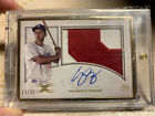 Corey Seager 2017 Topps Definitive Collection Patch Auto Gold Framed 30