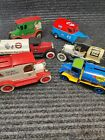 Ertl Eastwood Die cast Metal Truck Bank Lot of 6 Citgo Scenic Petty +