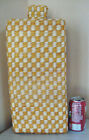 Large Woven Yellow White Basket Bottle Vase 19 tall