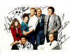 Cheers Cast Signed Authentic Autographed 8x10 Photo (8 Sigs) BECKETT #AA00610