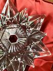 New Waterford Annual Snow Crystal Pierced Christmas Snowflake Ornament 2015
