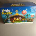 Fisher Price Little People Deluxe Christmas Story Nativity Set Lights Music NIB
