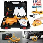 Car Electric Jack Hydraulic Floor 12V DC 2 3 Ton Lift Scissor Jack Repair Tools