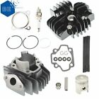 50cc Cylinder Piston Gasket Head Top End Kit for Yamaha PW50 1981 2018 NEW
