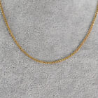 Vintage 18k Yellow Gold Heavy Rope Necklace 16 Long