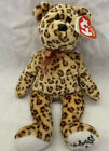 Leopold The Leopard Ty Beanie Baby Babies Rainforest Cafe