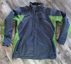 Mens Obermeyer Winter Insulated Ski Jacket Size XL Tall Green Gray Free Ship