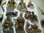 Kirkland Costco Christmas Nativity Scene Set With Wood Creche