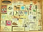 LOT DF 50 UNUSED WOOD RUBBER STAMPS INKADINKADO DARCIES AND MORE