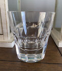 St Louis Crystal Bristol Double Old Fashioned Tumbler Glass 4 H France