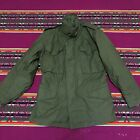 EXCELLENT COND BY ALPHA VINTAGE US ARMY M65 FIELD JACKET 1982 AFTER VIETNAM XS