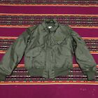 EXCELLENT COND USED ONCE VINTAGE 1993 CWU 45 P US AIR FORCE FLIGHT JACKET L