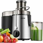 Juicer Centrifugal Juicer Machine Wide 3 Feed Chute Juice Extractor AMR516