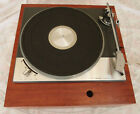 LENCO L75 VINTAGE IDLER DRIVE TURNTABLE WITH HEAVY DUTY ROSEWOOD PLINTH