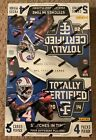 2014 Panini Totally Certified Football HOBBY Box FACTORY SEALED 4 Hits