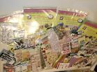 LOT RARE Stickers CLEAR STAMPS MORE K CO SOFT SPOKEN RECOLLECTIONS JOLEES