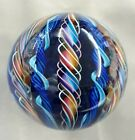 Tazza Glass Large Marble 315 Signed And Sold By The Artist