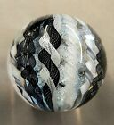 Tazza Glass Large Marble 325 Signed And Sold By The Artist