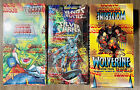 "Marvel Box Lot (3)Comic Images -Wolverine ""From then Till Now"" Silver Surfer."