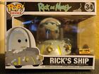 FUNKO POP! RICK AND MORTY: RICK'S SHIP #34...HOT TOPIC EXCLUSIVE