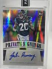 2016 Panini Super Bowl 50 Private Signings Football Cards 9