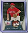 2009 Topps Unique Primetime Jersey Patch Kevin Millwood 99 Phillies Damaged