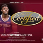 2020 21 CERTIFIED BASKETBALL FACTORY SEALED HOBBY BOX IN STOCK FREE SHIPPING
