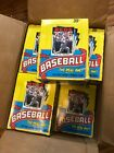 1986 TOPPS BASEBALL - WAX PACK BOX FROM FACTORY CASE - 36 Unsearched packs