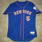 2013 David Wright New York Mets Jersey MLB Majestic Cool Base Authentic Sz48