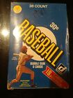 1981 DONRUSS Baseball Wax Box Sealed Box 36 Packs Boca Cards & Investments Seal