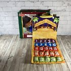 Fisher Price Little People Fabric Nativity Advent Christmas Calendar Complete