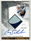 2008 09 Upper Deck UD The Cup Cory Schneider Rookie Patch 2 Color Auto RC 249