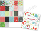 Benartex Christmas Winter First Frost Cotton Fabric 10 Layer Cake 42 Squares