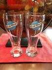 Pair Of Blue Moon Pilsner Glasses 16oz New Old Stock