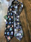 AMERICAN GREETINGS Necktie Tie Nativity Christmas Jesus Angel Lot NWT Snowman