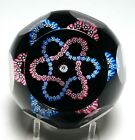 Caithness Period Whitefriars 1982 Double Trefoil Millefiori Paperweight