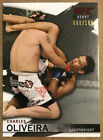 2010 Topps UFC Knockout Charles Oliveira Silver Base Parallel # 188