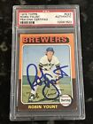 1975 Topps ROBIN YOUNT #223 Auto Autograph PSA DNA