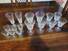 Set of Cristal dArques Clear Wine Glasses 10 pieces taille france