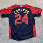 Miguel Cabrera 2014 All Star Game 24 Red Jersey Majestic Cool Base MLB Authentic
