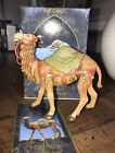 1992 ROMAN FONTANINI DEPOSE ITALY 5 HEIRLOOM NATIVITY VILLAGE FIGURE THE CAMEL