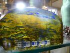 Kosta Boda Art Glass Sculpture Goran Warff Lapland Series Petroglyph  Excellent