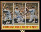 1962 Topps #316 Harmon Killebrew Signed Auto Autograph baseball card Minnesota