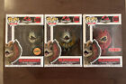 Funko Pop Jurassic Park Dilophosaurus Bundle Chase Common & Red Target Exclusive