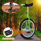 20 Green Unicycle Cycling Circus Bike Skidproof Youth Adult Balance Exercise