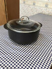 Pampered Chef Rockcrok Dutch Oven 4 QT Size with Glass Lid Great Condition