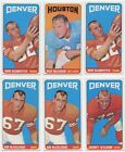 1965 Topps Football Cards 31